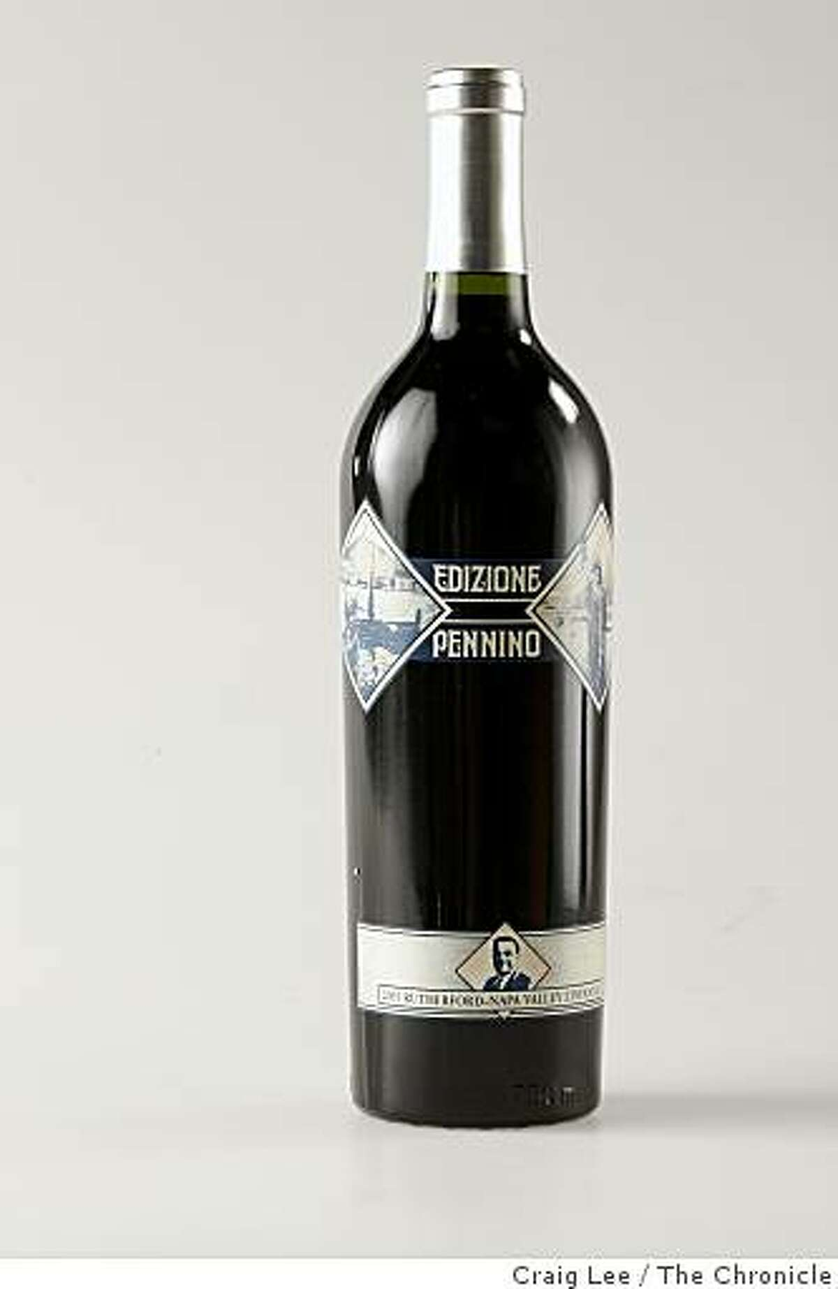 Edizione Pennino wine, one of the Top Ten wines out of the Top 100, in San Francisco, Calif., on November 13, 2008.
