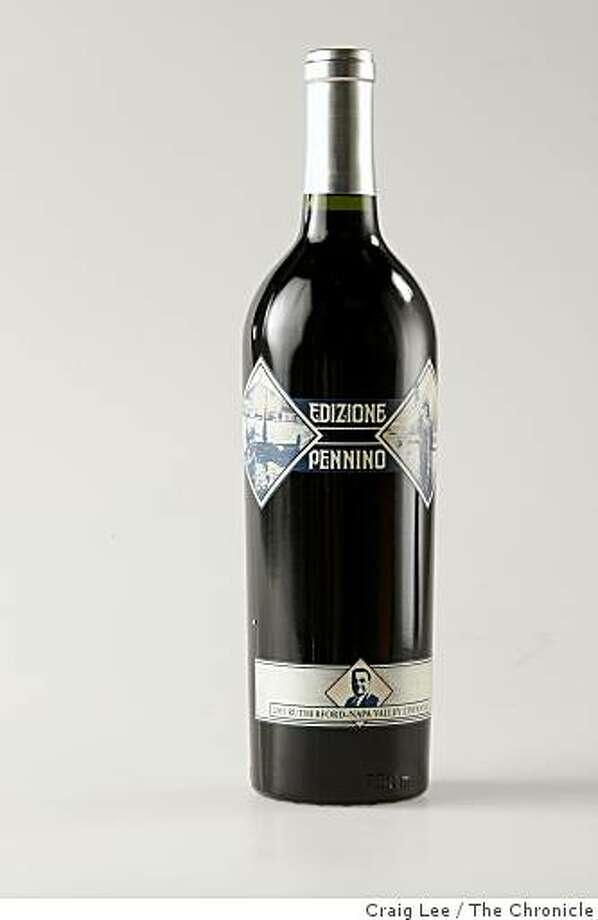 Edizione Pennino wine, one of the Top Ten wines out of the Top 100, in San Francisco, Calif., on November 13, 2008. Photo: Craig Lee, The Chronicle