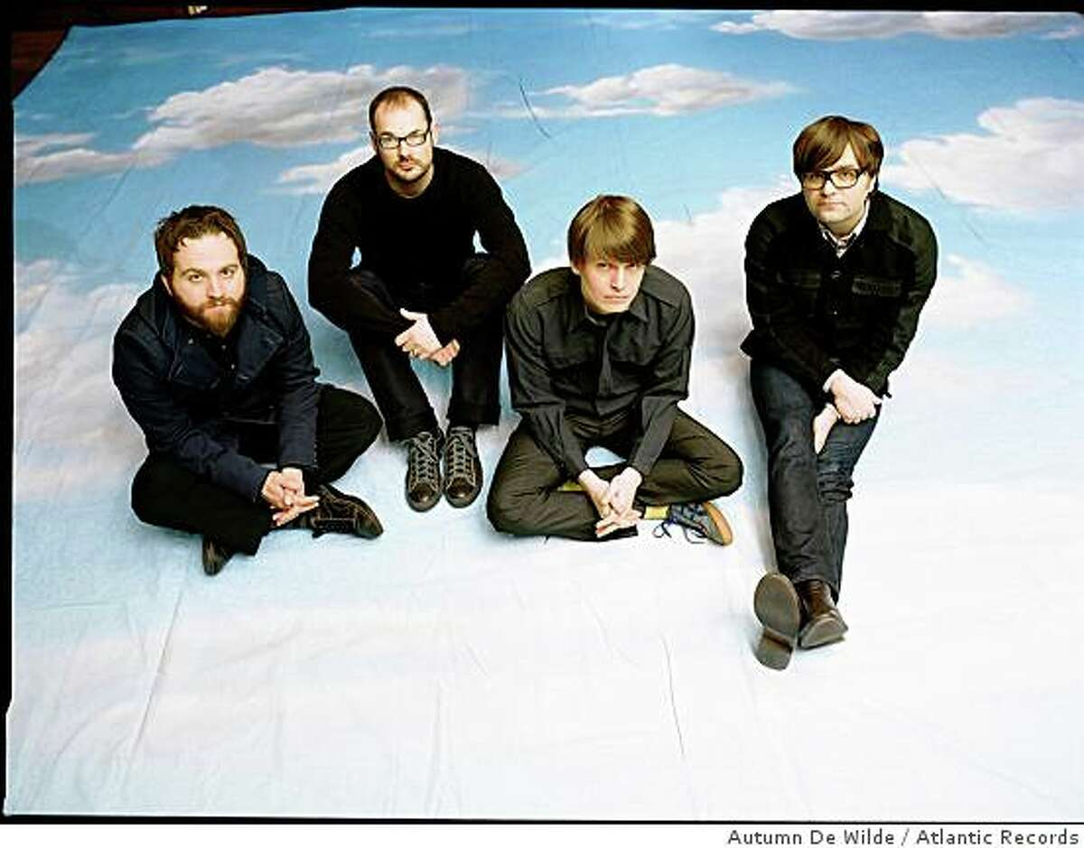 The band Death Cab for Cutie.