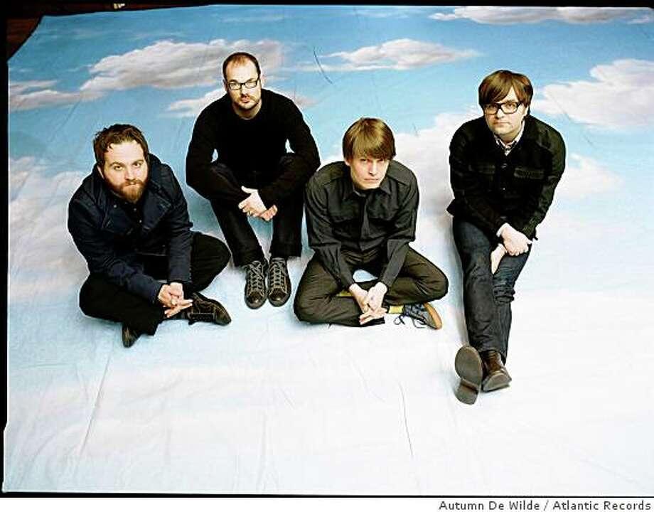 The band Death Cab for Cutie. Photo: Autumn De Wilde, Atlantic Records