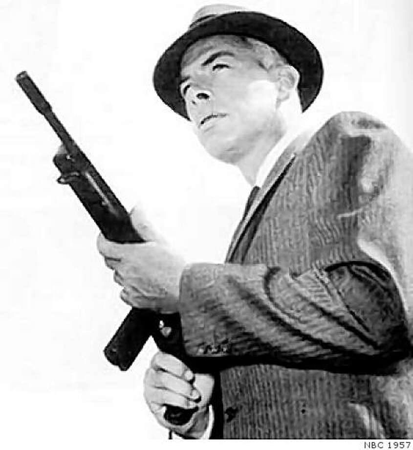 "Lee Marvin in ""M Squad."" Photo: NBC 1957"