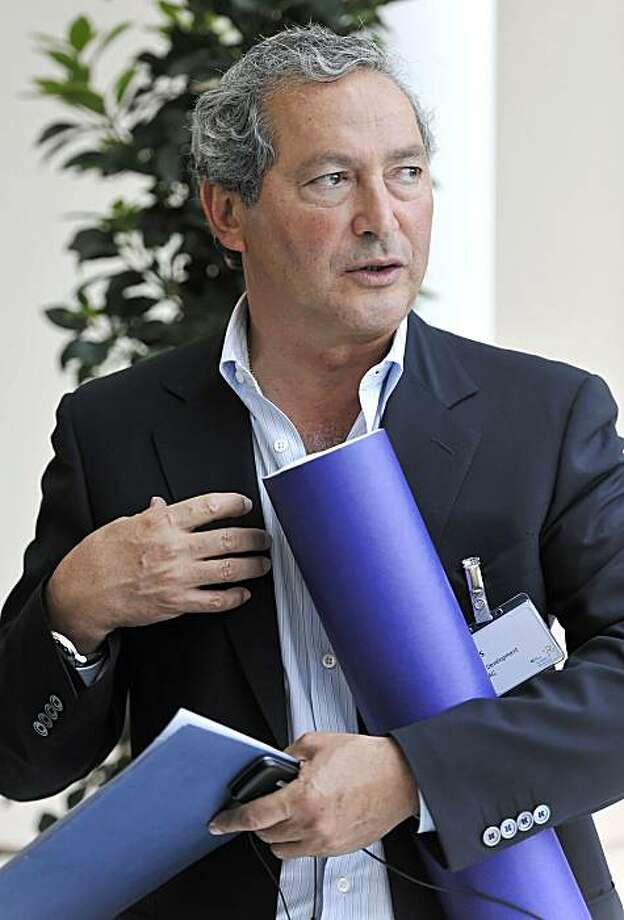 Samih Sawiris, chief executive officer of Orascom Development Holding AG, attends the St.Gallen symposium in St. Gallen, Switzerland, on Thursday, May 6, 2010.  Deutsche Bank AG Chief Executive Officer Josef Ackermann said it?s very important to ?stabilize? Greece because a debt default would increase risks for other countries. Photographer: Charles Ellena/Bloomberg *** Local Caption *** Samih Sawiris Photo: Charles Ellena, Bloomberg News