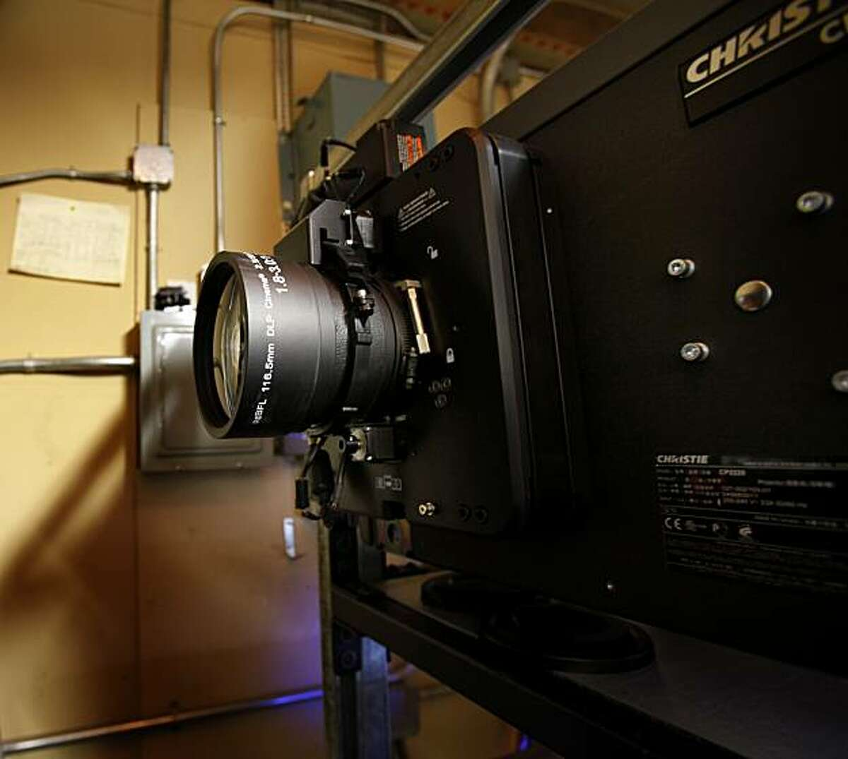 The new projectors for 3D films give the Grand Lake viewers a state-of-the-art film experience. The Grand Lake theatre in Oakland, Calif. is the last theatre run by Allen Michaan, who used to have more than a dozen theatres in the Bay Area.