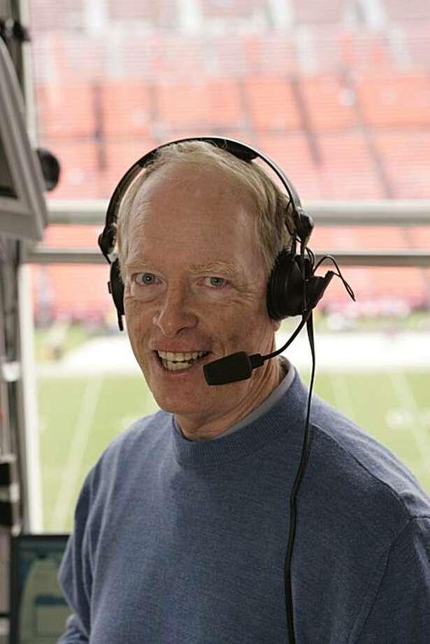 Joe Starkey, San Francisco 49ers radio broadcaster, circa 2008 Photo: Handout