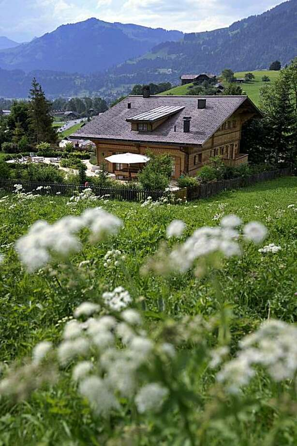 Oscar-winning filmmaker Roman Polanski's chalet, called ''Milky Way'', is seen in the western Swiss ski resort of Gstaadon July 12, 2010. Switzerland has rejected a US extradition request for Franco-Polish film director Roman Polanski over a child sex case dating back to 1977 and that the filmmaker can go free from house arrest. The announcement comes 10 months after Polanski's dramatic arrest on a US warrant which saw him originally confined to prison before being bailed on 4.5 million Swiss francs (3.0million euros, 4.5 million dollars) and ordered to surrender his passport. Photo: Fabrice Coffrini, AFP/Getty Images