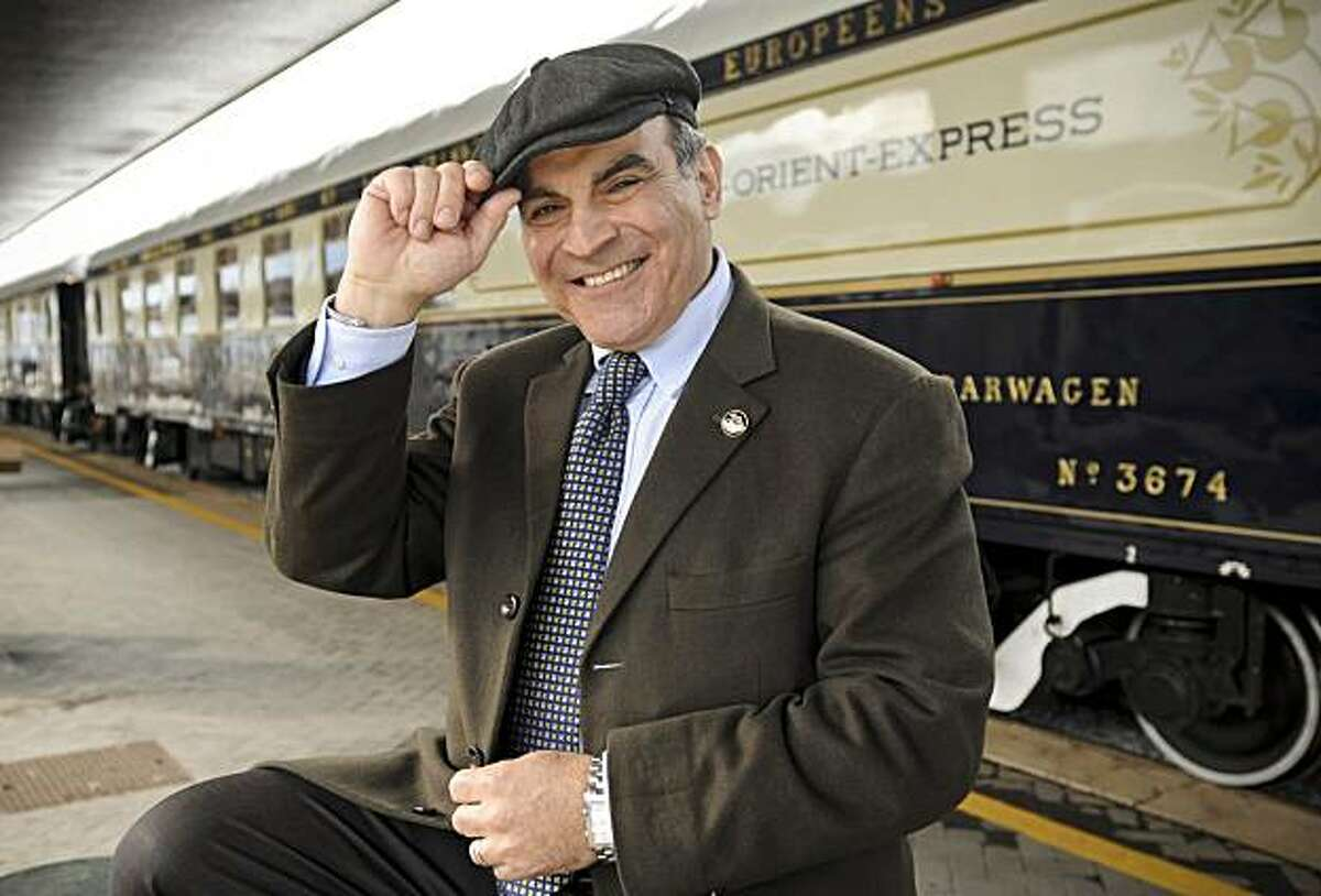 David Suchet on the Orient Express: A MASTERPIECE Special Wednesday, July 7, 2010 at 9 to 10pm ET on PBS With glamour, insight, charm, beautiful photography, and fascinating stories, David Suchet leads viewers on a blissfully homicide-free excursion aboard the modern-day Orient Express.
