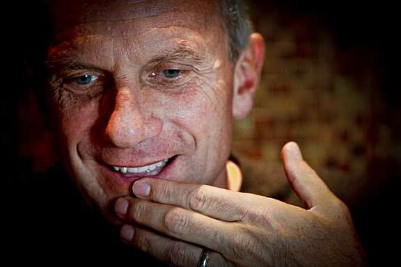 Former San Francisco 49er quarterback Joe Montana is seen on Monday, March 30, 2010 in the Club Level of the Millennium Tower in San Francisco, Calif. where he and his wife, Jennifer, have recently moved into a condominium.
