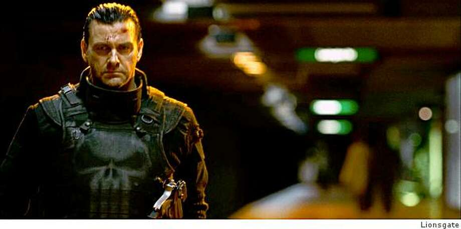 "Ray Stevenson as Frank Castle in ""Punisher: War Zone."" Photo: Lionsgate"