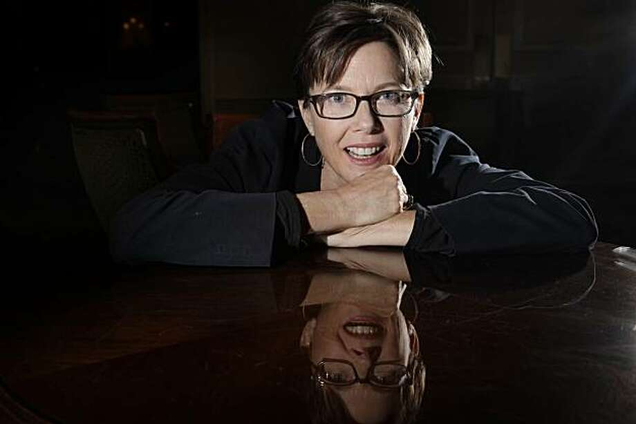 """Annette Bening, who is in a new movie, """"The Kids Are All Right"""", is seen at the Ritz Carlton Hotel in San Francisco, Calif. on Wednesday May 26, 2010. Photo: Lea Suzuki, The Chronicle"""