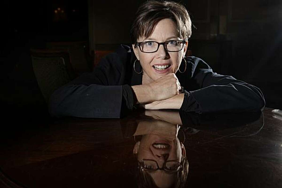 Annette Bening, who is in a new movie,