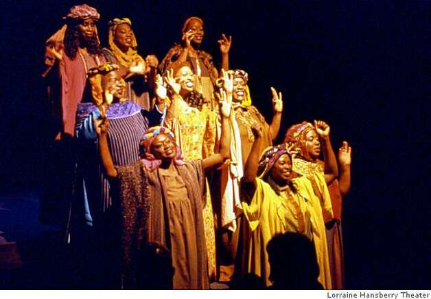 The Black Nativity. Photo: Lorraine Hansberry Theater