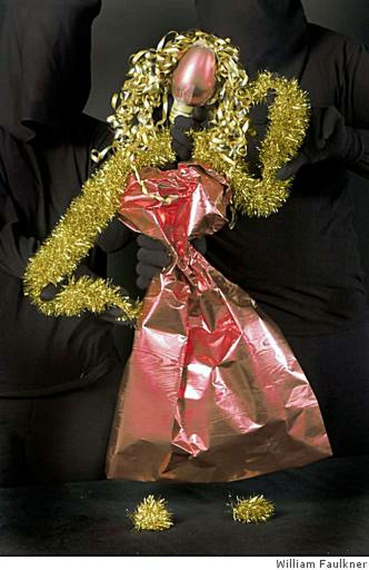 """The Marsh presents Lunatique Fantastique's """"Wrapping Paper Caper"""" Dec. 7-Jan. 4, 2008, in San Francisco."""