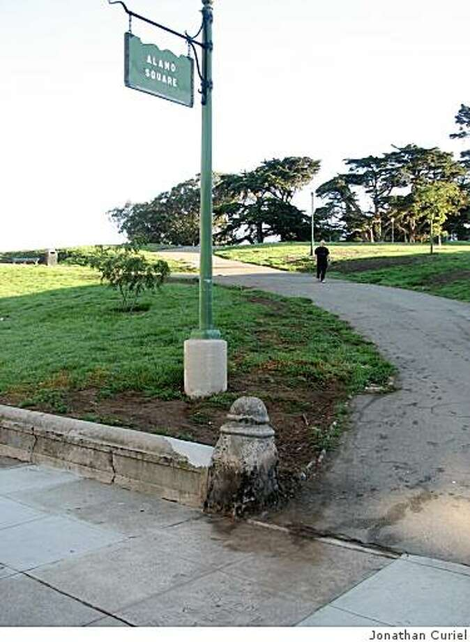 Leak at Alamo Square in San Francisco seems to have been solved Photo: Jonathan Curiel