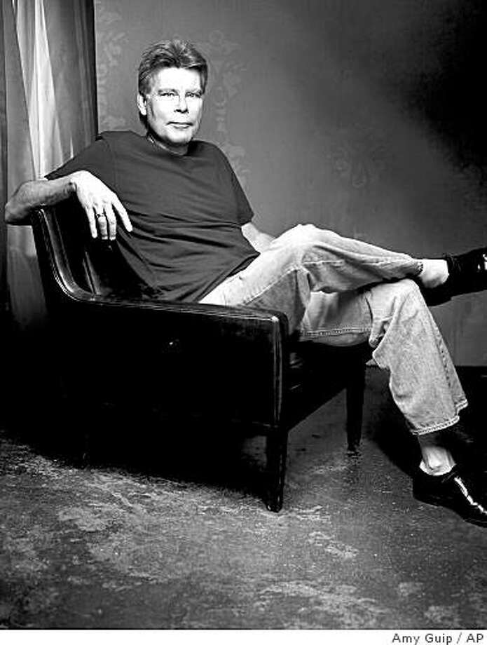 """This photo released by Scribner shows Stephen King author of """"Just After Sunset"""". (AP Photo/Amy Guip,Scribner)**NO SALES** Photo: Amy Guip, AP"""