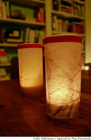 Finished votives Photo: Kelly Wilkinson, Special To The Chronicle
