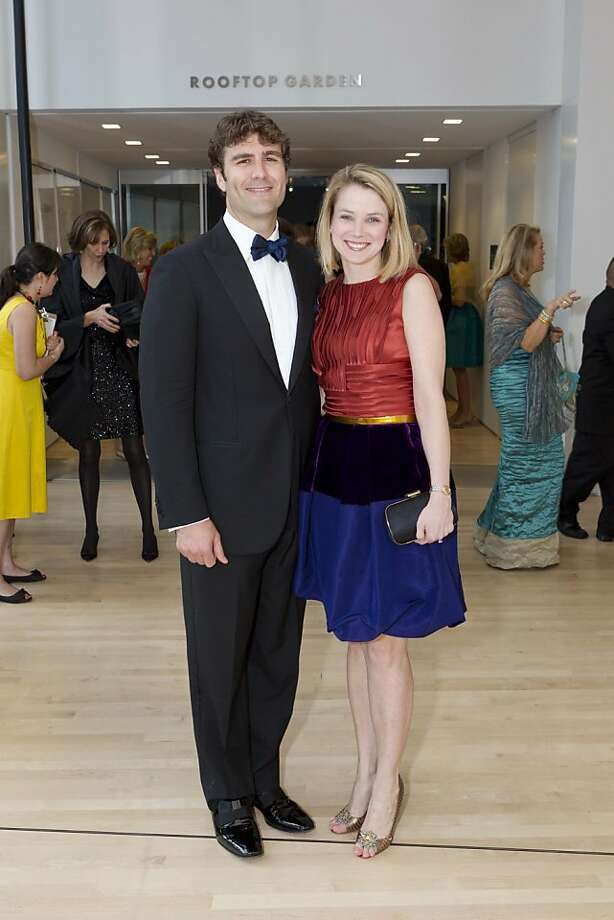Yahoo CEO Marissa Mayer and her husband, Zachary Bogue are the poster couple for Silicon Valley success. Mayer was named CEO in 2012 and Bogue, a former lawyer is the co-founder of Data Collective, a venture fund, and also works as an angel investor and advisor for big data startups. Photo: Drew Altizer, Photo: Drew Altizer