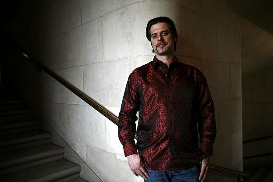 Opera singer John Relyea, who came up through the SFO training program and now returns as a big star, poses for a portrait on Monday, May 17, 2010 in San Francisco, Calif. Photo: Jessica Pons, The Chronicle