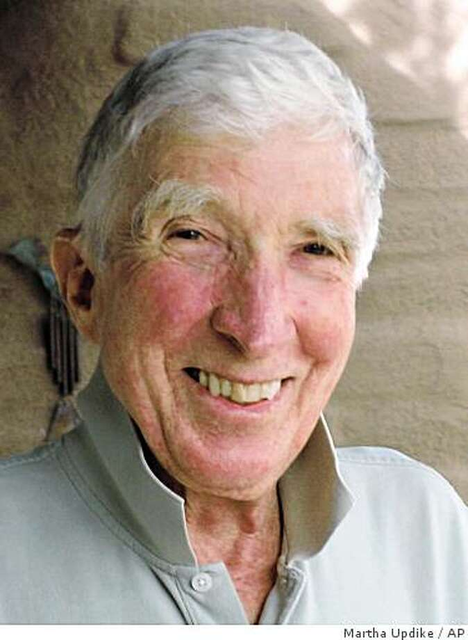 ***HOLD FOR RELEASE UNTIL 1900GMT. THIS STORY MAY NOT BE PUBLISHED, BROADCAST OR POSTED ONLINE BEFORE 1900GMT*** This photo released by Alfred A. Knopf shows  John Updike. It's not quite the Nobel Prize, but John Updike has a new literary accolade: laureate of bad sex. (AP Photo/Martha Updike,Alfred A. Knopf,File) **NO SALES** Photo: Martha Updike, AP