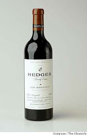 Hedges wine , in San Francisco, Calif., on November 21, 2008. Photo: Craig Lee, The Chronicle