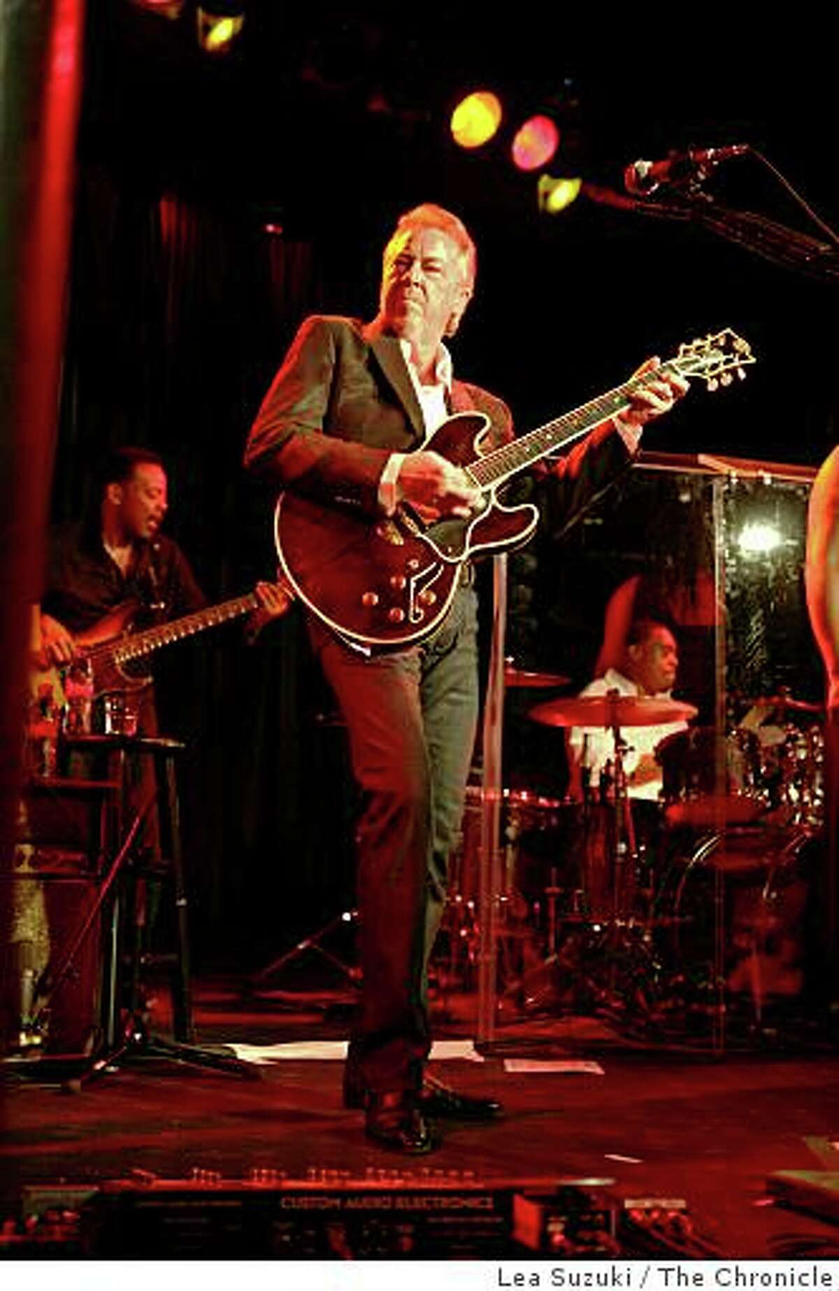 Boz Scaggs performs during a private party held to celebrate the 20th anniversary of Slims on Tuesday, October 14, 2008 in San Francisco, Calif.