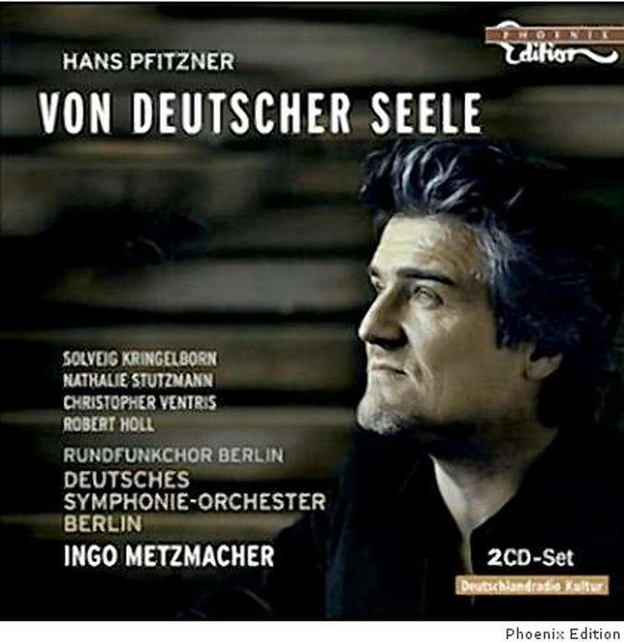 CD cover: Hans Pfitzner Photo: Phoenix Edition