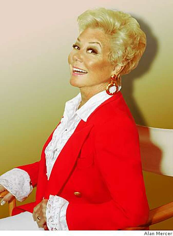 Mitzi Gaynor will perform at the Herbst Theatre on January 10, 2009. Photo: Alan Mercer