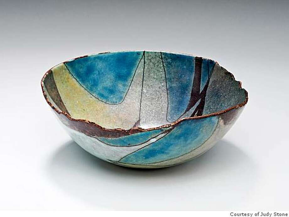 """""""Ceramic Bowl"""" Ceramic artist Judy Stone is one of 300 women who'll be showing andselling their wares at Fort Mason Center over the next two weekends. Photo: Courtesy Of Judy Stone"""