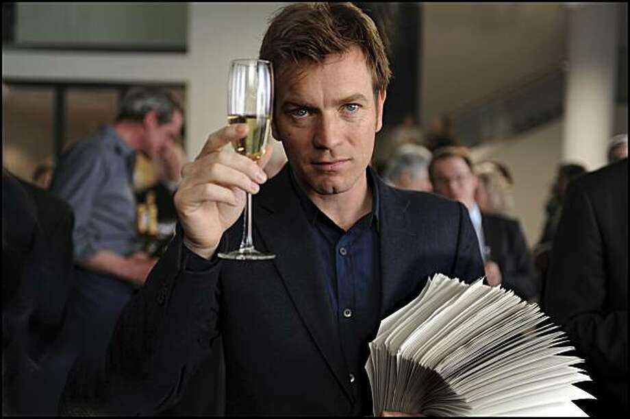 EWAN McGREGOR stars in THE GHOST WRITER. EWAN MCGREGOR  stars in THE GHOST WRITER Photo: Guy Ferrandis, Summit Entertainment