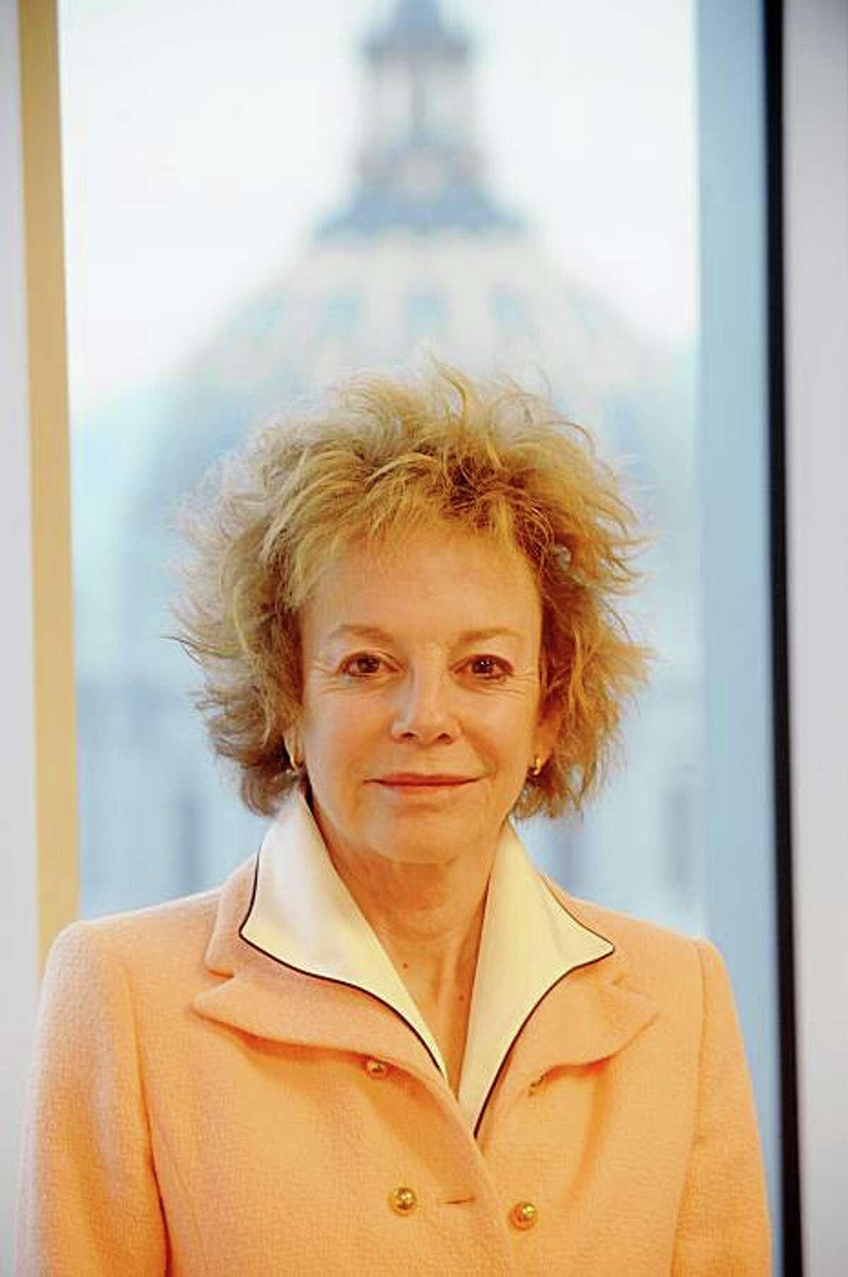 State Sen. Carole Migden, D-San Francisco, poses in her San Francisco office on Monday, Nov. 24, 2008.