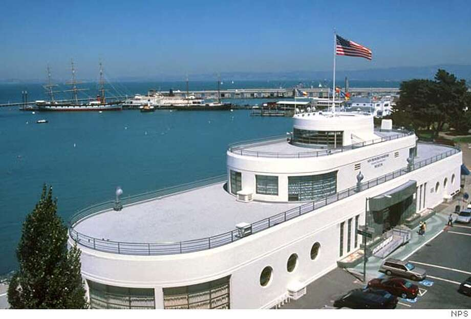 Museum building, San Francisco Maritime National Historical Park. NPS photo Photo: NPS Photo