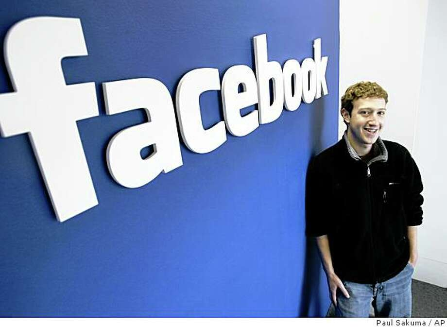 Mark Zuckerberg, CEO of Facebook. Photo: Paul Sakuma, AP
