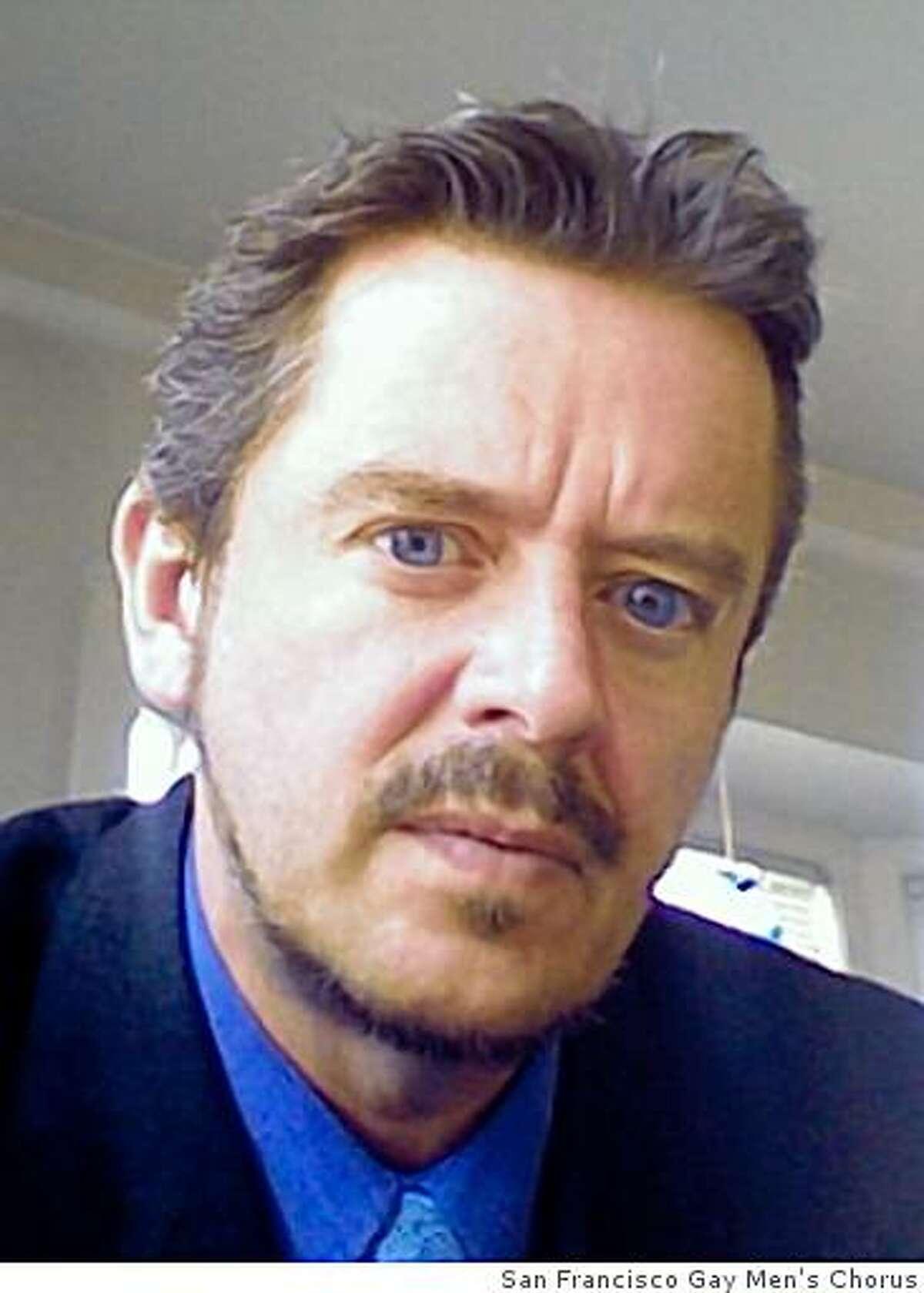 Teddy Witherington, executive director of the San Francisco Gay Men's Chorus
