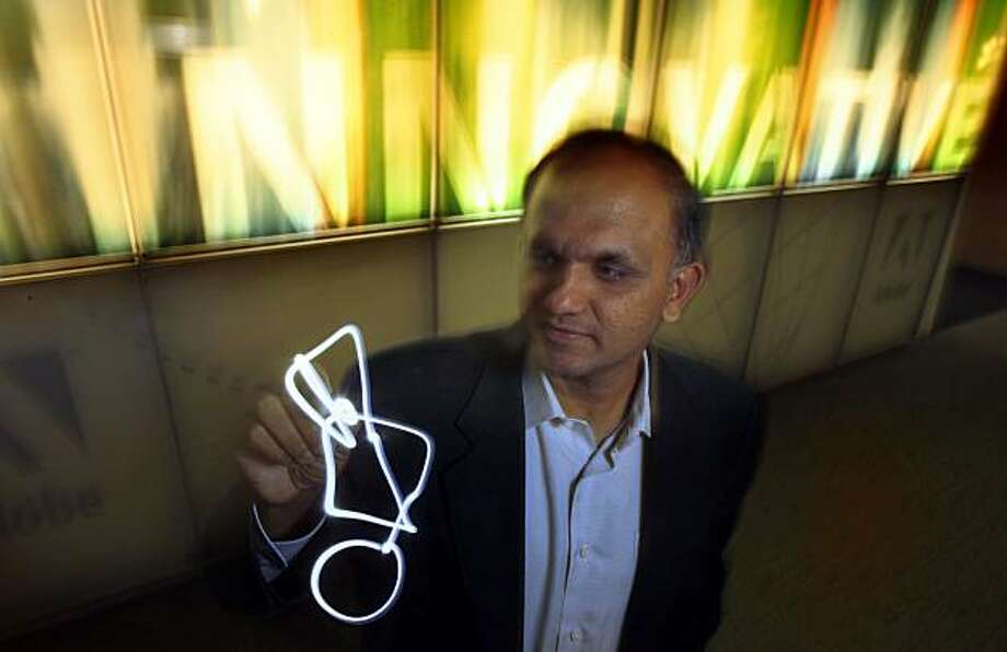 President and CEO of Adobe Systems, Shantanu Narayan, in his downtown San Jose, Calif. headquarters, on Thursday Nov. 13, 2008. Photo: Michael Macor, The Chronicle