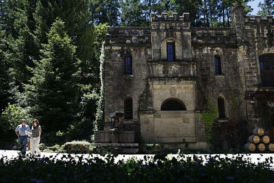 Historic outside decor is a signature to the look at Chateau Montelena on Wednesday June 16, 2010 in Calistoga, Calif. Photo: Mike Kepka, The Chronicle