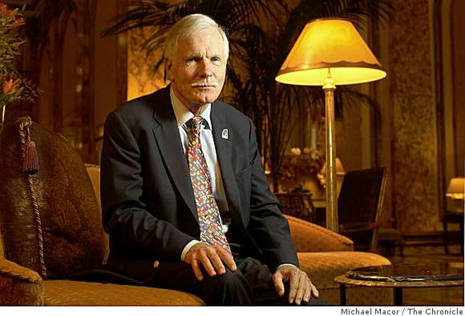 Ted Turner at the Fairmont Hotel in San Francisco, Calif., on Wednesday  Nov. 19, 2008. Photo: Michael Macor, The Chronicle