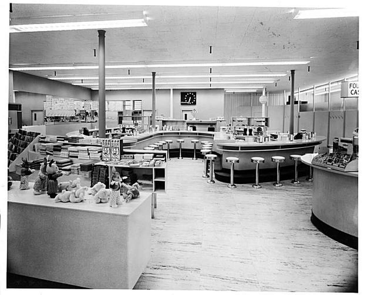 The Blandings Pharmacy in Providence R.I., designed by architect Ira Rakatansky, is featured in the book