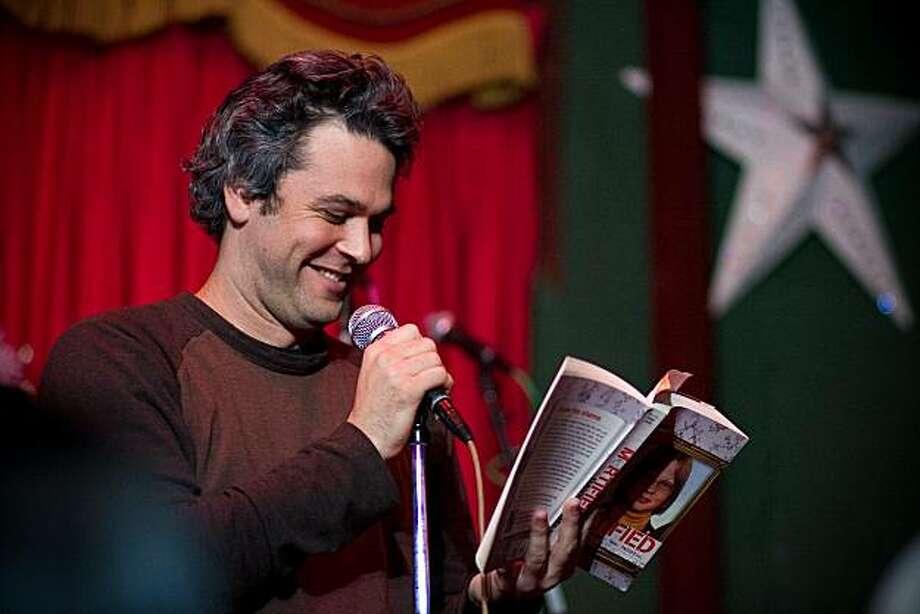Storytellers like David Nadelberg share tales of angst at Mortified. Photo: Ed Pingol