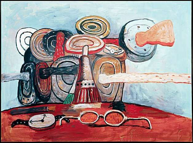 "As It Goes 1978, oil on canvas, 76"" x 8' 6"" by Philip Guston Photo: Estate Of Philip Guston, Doris & Donald Fisher Collection"