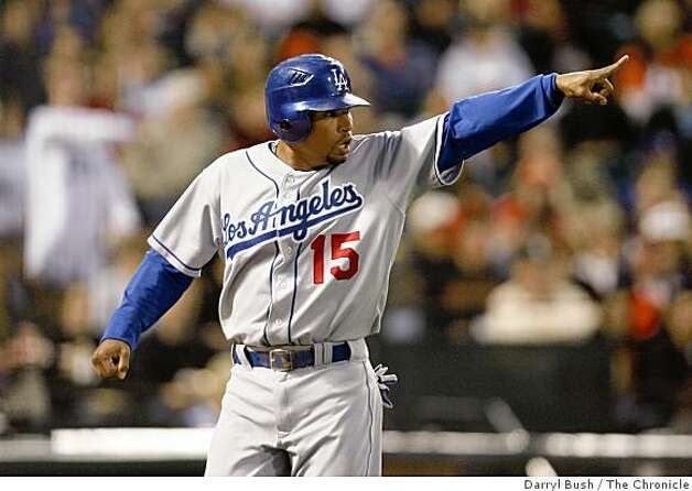 Rafael Furcal. Photo: Darryl Bush, The Chronicle
