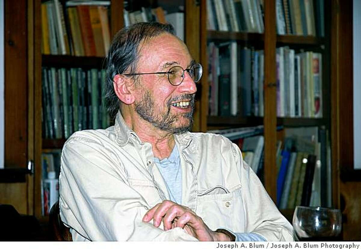 Obit photo of Frank Cieciorka, a political activist, graphic artist and watercolorist whose rendering of a raised fist became an indelible image of sixties radicalism, died Monday of emphysema at his home in Humboldt County. He was 69. Mr. Cieciorka (pronounced che-CHOR-ka) was a Bay Area civil rights activist in 1965 when he made his first 5? x 4? woodcut prints of the fist, which soon appeared on posters and buttons as a symbol of anti-establishment protest.