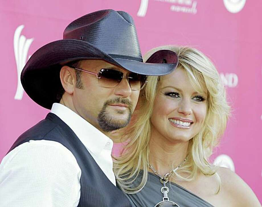 Tim McGraw and Faith Hill have listed their home in L.A.�s Beverly Park section Photo: Jae. C. Hong, AP