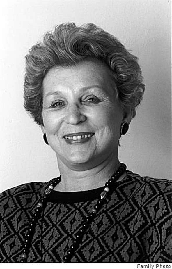 obit photo of Anne Bashkiroff  who died on Wednesday, November 19, 2008. Mrs. Bashkiroff was a co-founder of San Francisco-based Family Caregiver Alliance, and was involved in the development of the Alzheimer?s Association. In the last three decades of her life she was tirelessly devoted to the cause of families and caregivers of loved ones with Alzheimer?s disease, stroke, brain injury and other debilitating illnesses that strike adults. Mrs. Bashkiroff turned private tragedy into new public policy, and in the course of so doing, helped improve the lives of caregivers throughout the nation. Photo: Family Photo, Family
