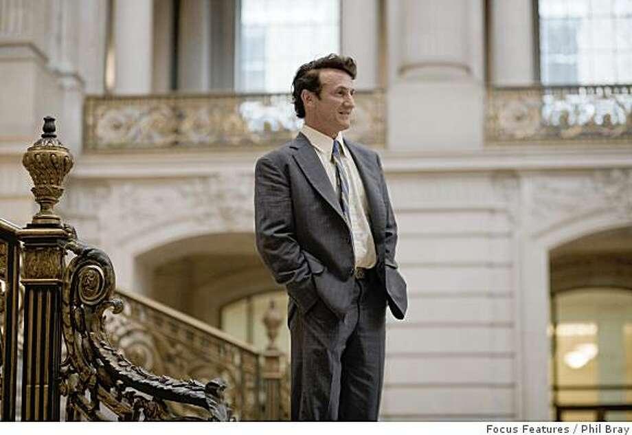 "The movie ""Milk."" (2008)Sean Penn Photo: Focus Features, Phil Bray"