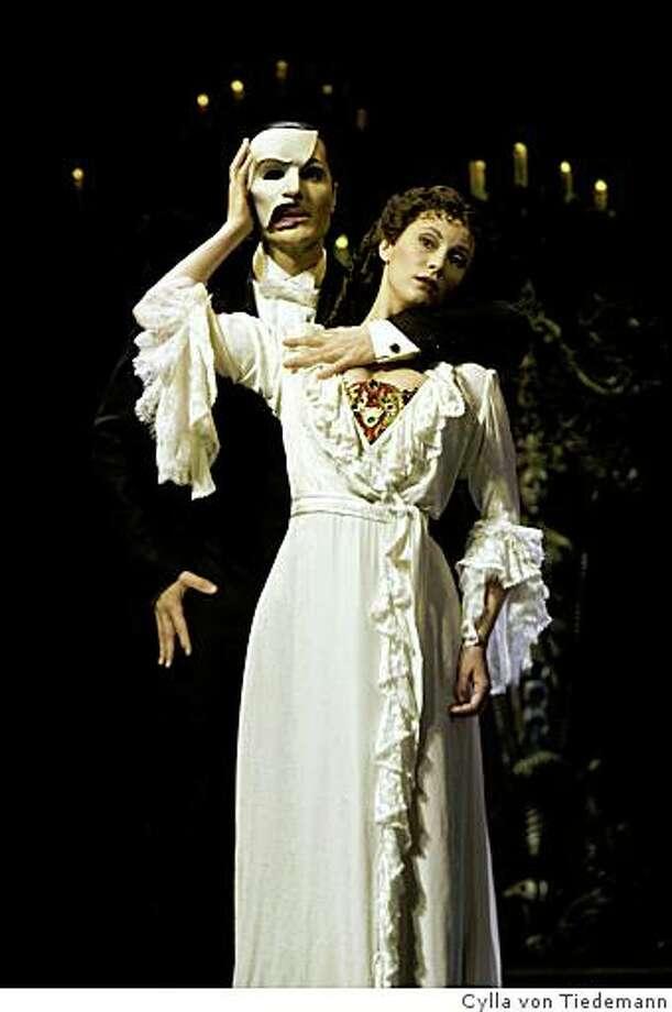 """The Phantom of the Opera"" returns to the Orpheum Theatre,"" starring John Cudia and Trista Moldovan. Photo: Cylla Von Tiedemann"
