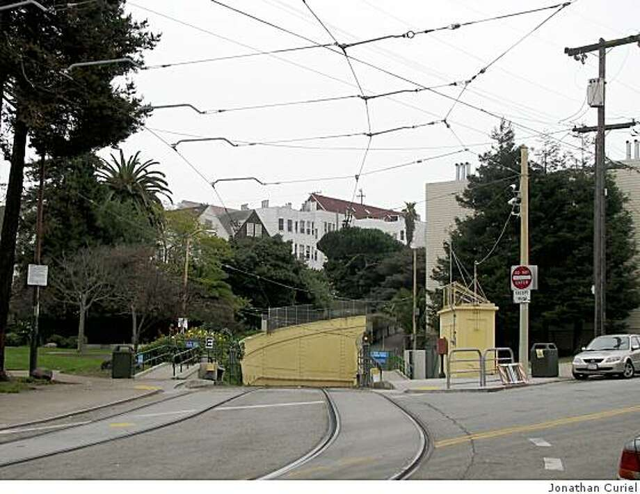 The park near Carl and Cole streets in s.f. Photo: Jonathan Curiel