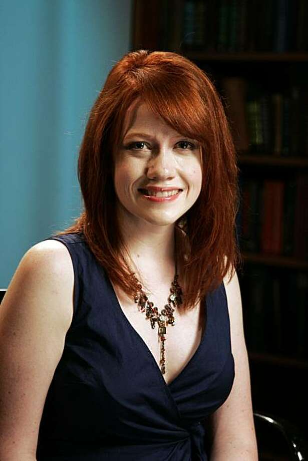 In this May 25, 2010 photo, author Richelle Mead poses for a portrait in New York. Photo: Jeff Christensen, AP