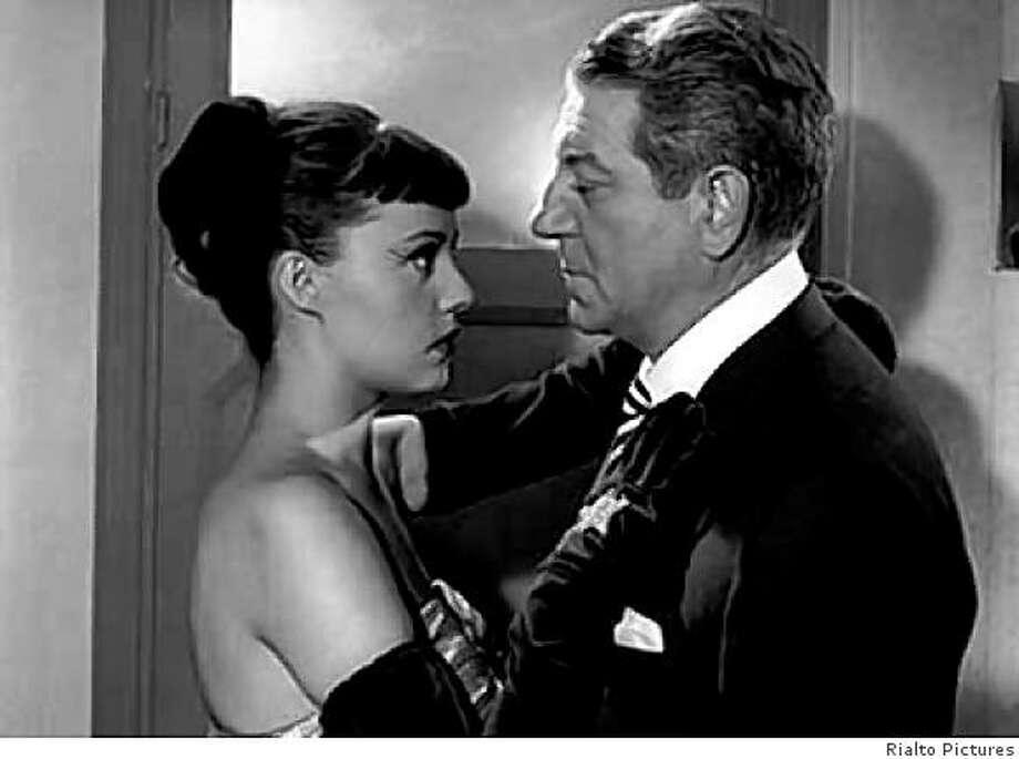 """Jeanne Moreau and Jean Gabin in """"Touchez Pas Au Grisbi,"""" 1954 Photo: Rialto Pictures"""