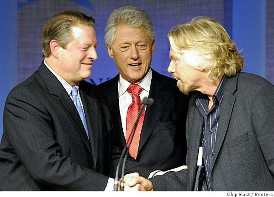 The Clinton Global Initiative, an annual event that brings together world leaders from business, government and philanthrophy to try to solve world issues, is sort of the Philanthropy Oscars. Photo: Chip East, Reuters