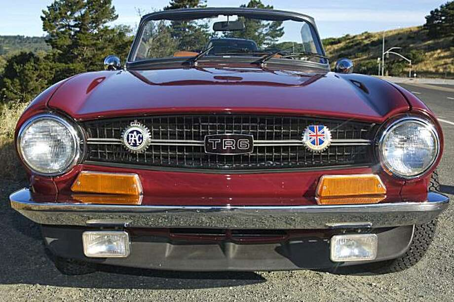 The TR6 is a huge collection of idiosyncrasies. Photo: Stephen Finerty
