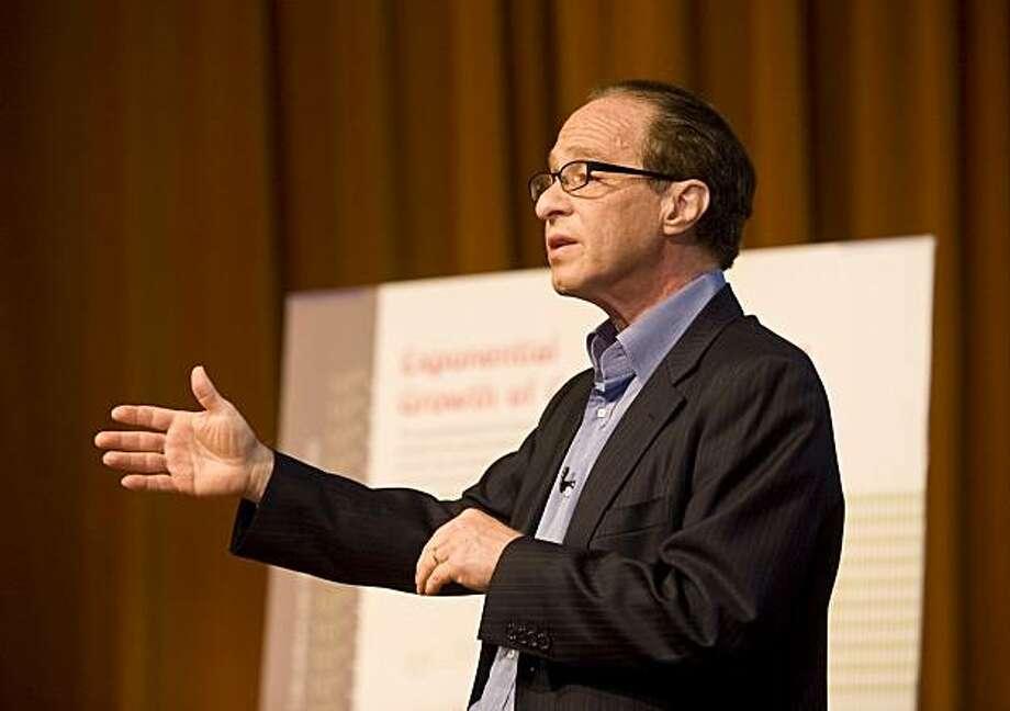 Futurist, inventor and author Ray Kurzweil. Photo: Courtesy, Kurzweil Tech